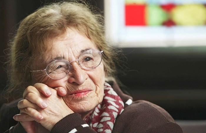 Ungarische Philosophin Agnes Heller erhaelt Carl-von-Ossietzky-P